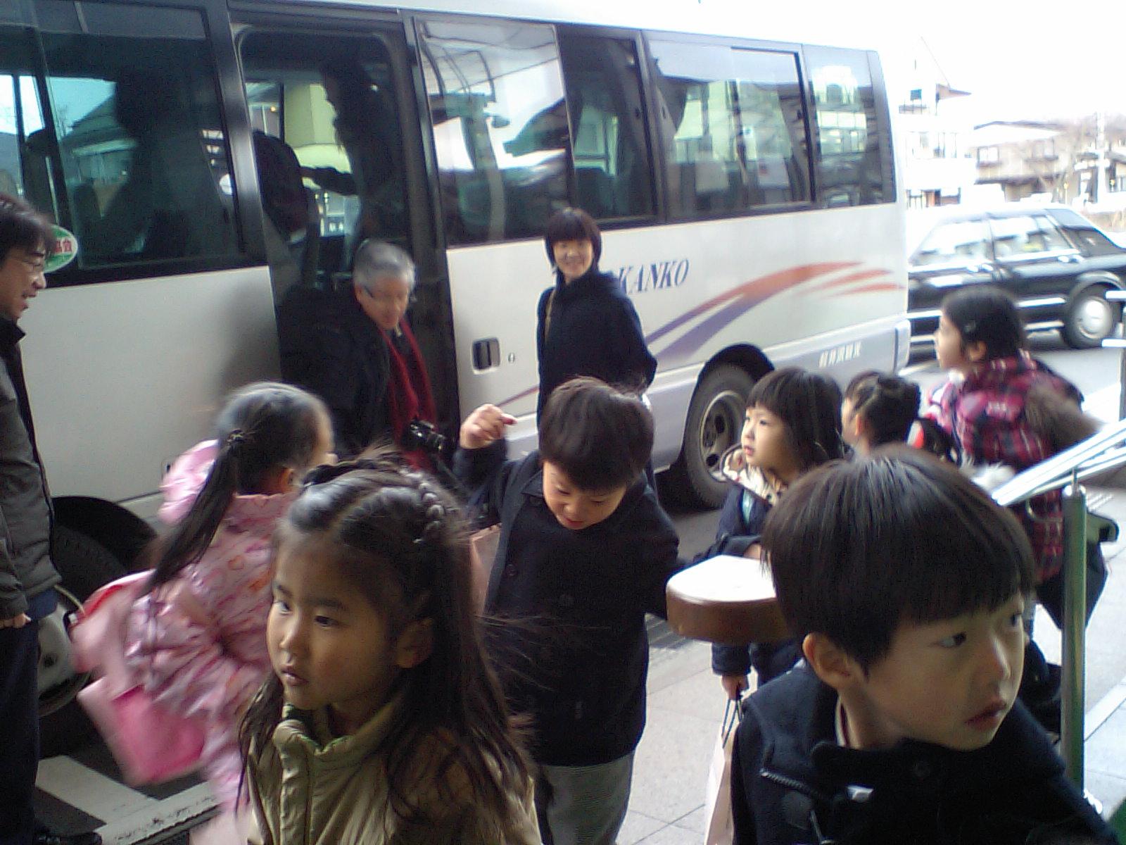 軽井沢駅到着